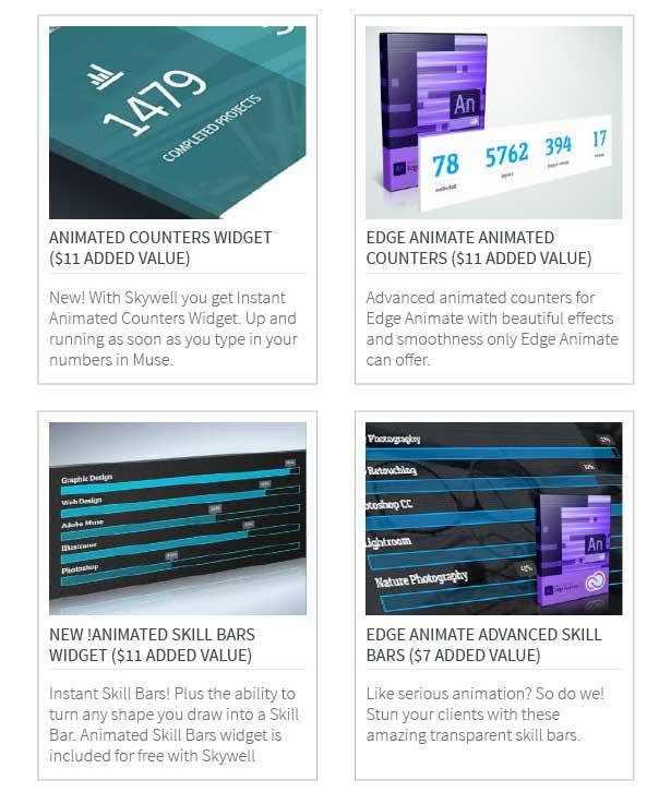 Skywell - MultiPurpose Adobe Muse Template - 13