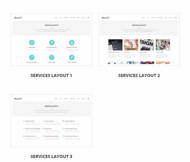 Skywell - MultiPurpose Adobe Muse Template - 25